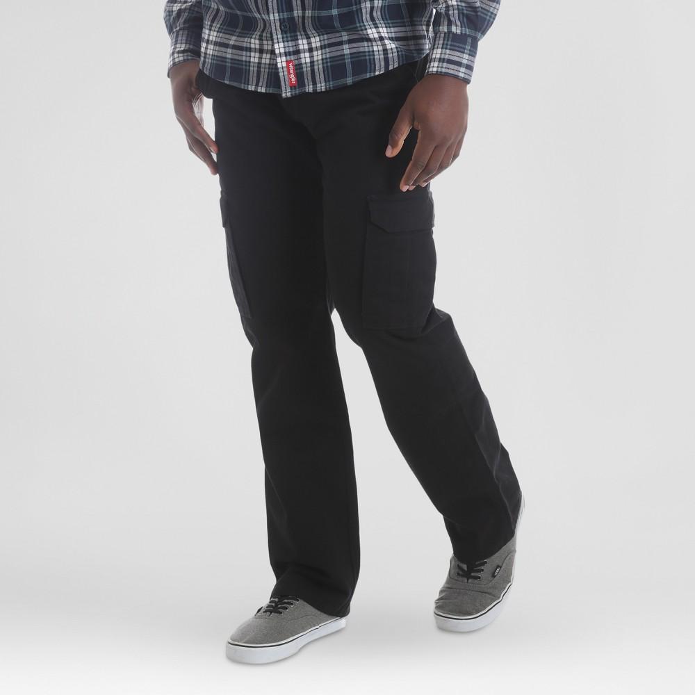 Wrangler Men's Cargo Pants - Black 36x30