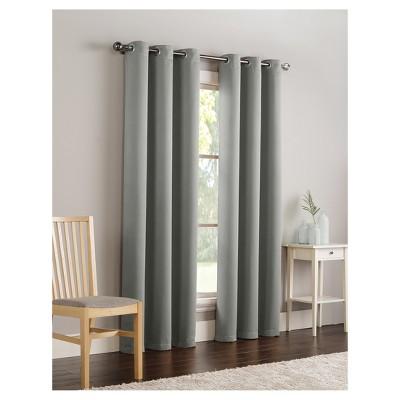 Ryan Blackout Curtain Panel Slate (40 X63 )- VCNY Home