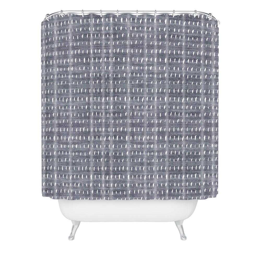 Holli Zollinger Rain Light Shower Curtain Gray Deny Designs