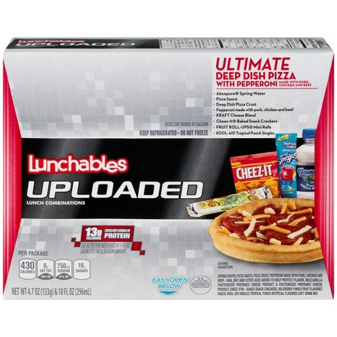 Oscar Mayer Deep Dish Pepperoni Pizza Uploaded Lunchables 11.4oz - image 1 of 3