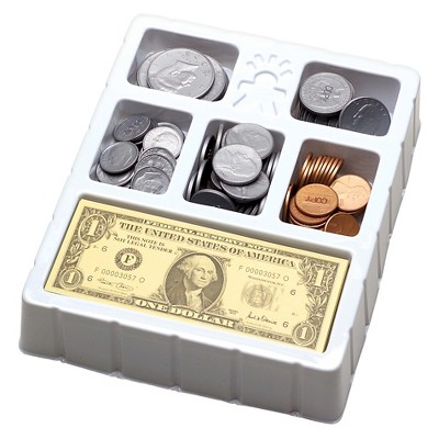 Educational Insights Play Money - Coins & Bills