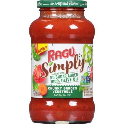 Ragu Simply Chunky Garden Vegetable Pasta Sauce - 24oz