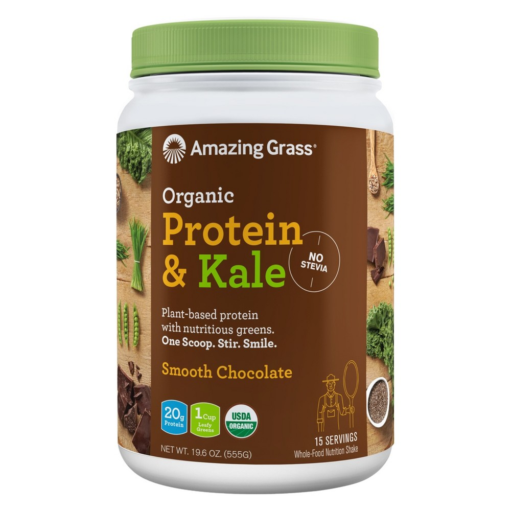 + Organic Protein & Kale Powder - Chocolate - 19.6oz