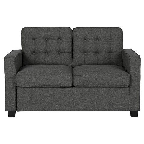 Avery Sleeper Sofa with Certipur Certified Memory Foam Mattress Twin Gray - Signature Sleep - image 1 of 11