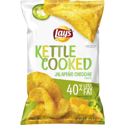 Potato Chips: Lay's Kettle Cooked Reduced Fat