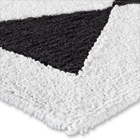 Graphic Bath Rug Black White Nate Berkus Target
