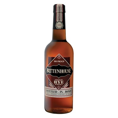 Rittenhouse 100 proof Straight Rye Whisky - 750ml Bottle