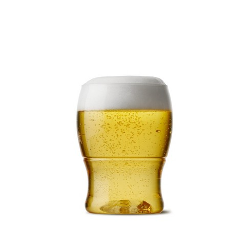 7oz Pint Mini Plastic Beer Glasses - TOSSWARE - image 1 of 4