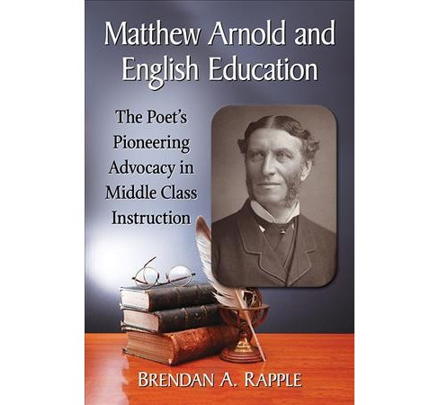 Matthew Arnold and English Education : The Poet's Pioneering Advocacy in Middle Class Instruction - image 1 of 1