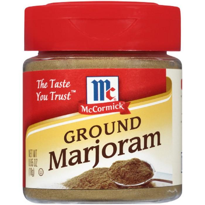 McCormick Ground Marjoram - 0.65oz - image 1 of 4