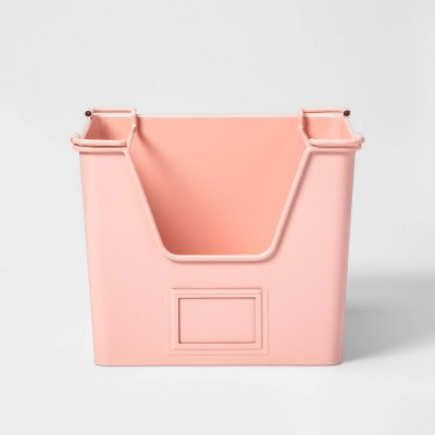Small Metal Stackable Storage Pink - Pillowfort™