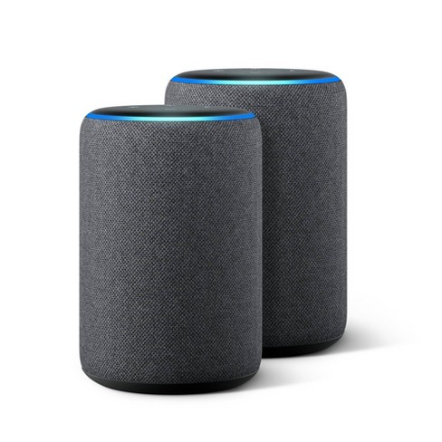 Amazon Echo (3rd Gen) Charcoal - 2 Pack - image 1 of 1