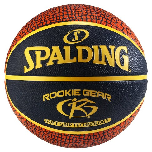 Spalding Rookie Gear Soft Grip Basketball - Red/Blue Armadillo (27.5) - image 1 of 2