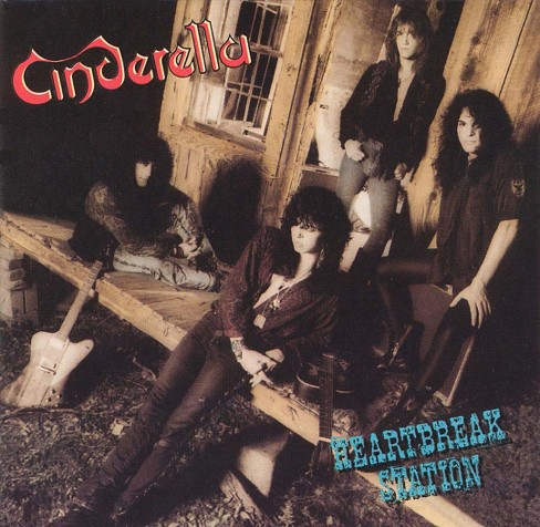 Cinderella - Heartbreak Station (CD) - image 1 of 4