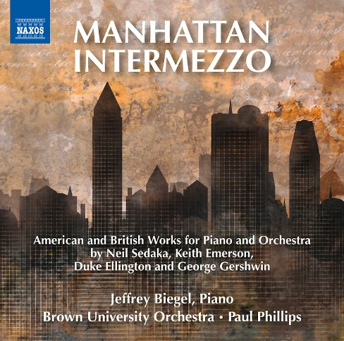 Brown university orc - Manhattan intermezzo (CD) - image 1 of 1