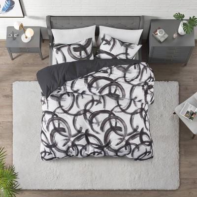 Anaya 3pc Cotton Printed Comforter Set - CosmoLiving by Cosmopolitan