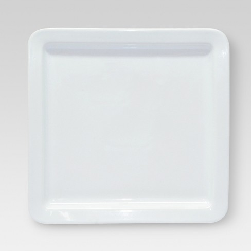 "Square Dinner Plate White 11""x11"" - Threshold™ - image 1 of 1"