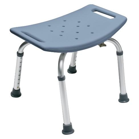 Lumex Platinum Collection Bath Seat - Steel Blue - image 1 of 1
