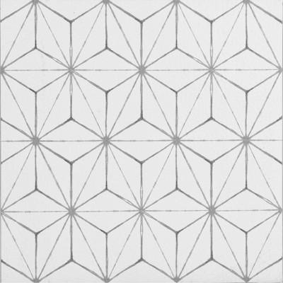 FloorPops Set of 20 Kikko Peel & Stick Floor Tiles Clear