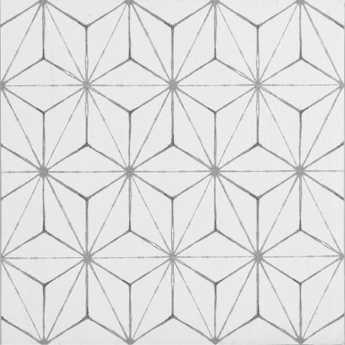 20 Kikko L Stick Floor Tiles Clear