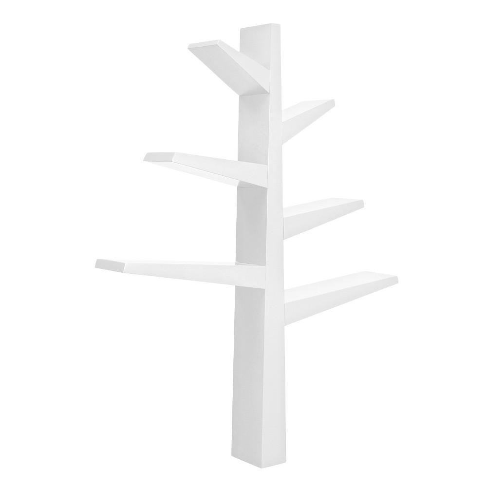Image of Babyletto Spruce Tree Bookcase - White