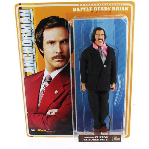 Seven20 Anchorman 8-Inch Action Figure: Battle Ready Brian - image 1 of 2