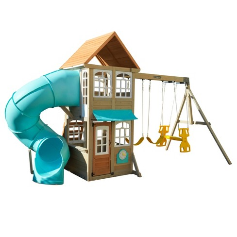 Kidkraft Montauk Wooden Swing Set Playset