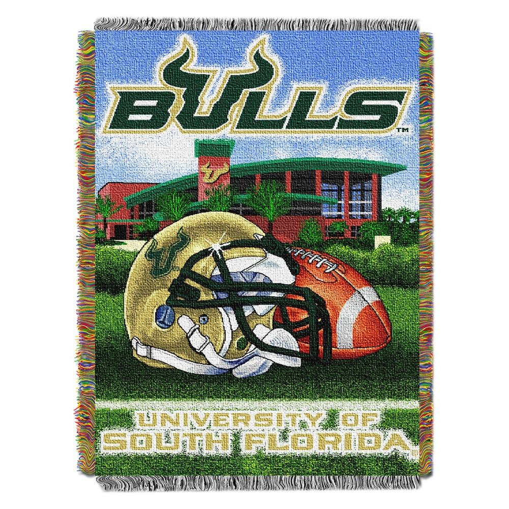 NCAA Northwest Tapestry Throw Blanket South Florida Bulls - 48 x 60