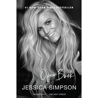 Open Book - by Jessica Simpson (Paperback)