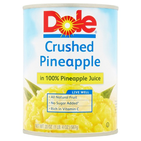 Dole Crushed Pineapple in Juice 20 oz - image 1 of 1