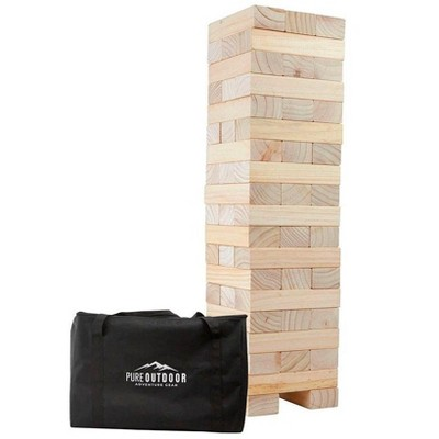 Monoprice Giant Tumbling Tower For Tailgating, Bbqs, Camping, Outdoor Events, And Much More - Pure Outdoor Collection