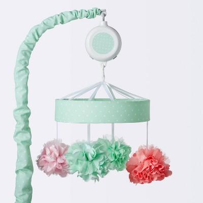 Crib Mobile Pom Pom - Cloud Island™ Mint