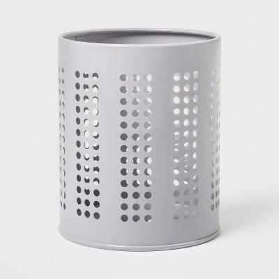 Metal Kitchen Utensil Holder Silver - Room Essentials™