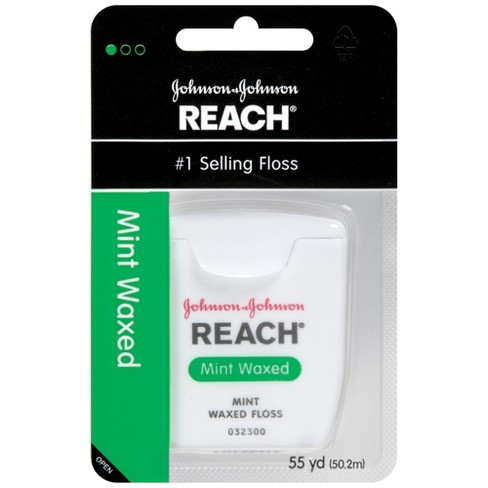 Reach® Mint Waxed Floss - 55yd - image 1 of 2