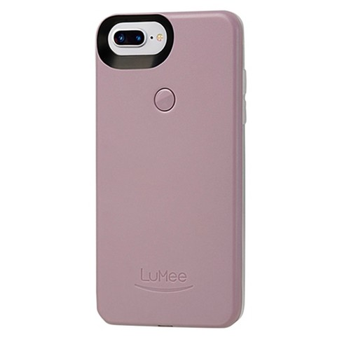 separation shoes 74977 a6900 LuMee Apple iPhone 8 Plus/7 Plus/6s Plus/6 Plus Selfie Case - Heather Gray