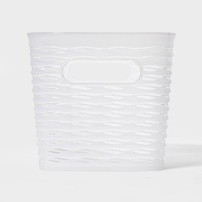5L 1/2 Medium Wave Design Rectangle Basket - Room Essentials™