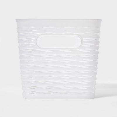 5L 1/2 Medium Wave Design Rectangle Basket - Room Essentials™
