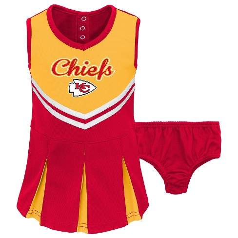 New NFL Kansas City Chiefs Infant Toddler In The Spirit Cheer Set : Target