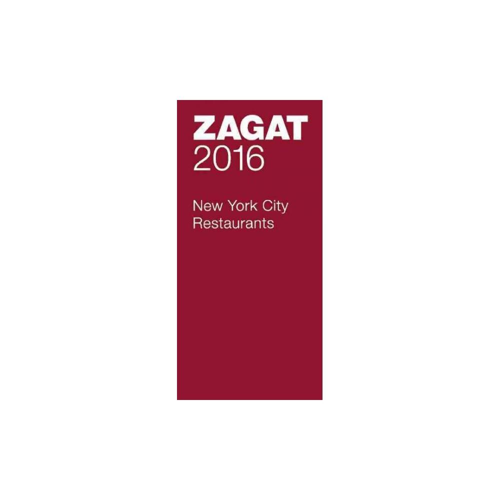 New York City Restaurants 2016 (Paperback)