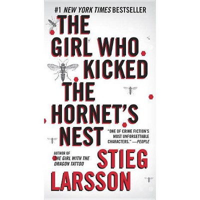 The Girl Who Kicked the Hornet's Nest - (Millennium) by  Stieg Larsson (Paperback)