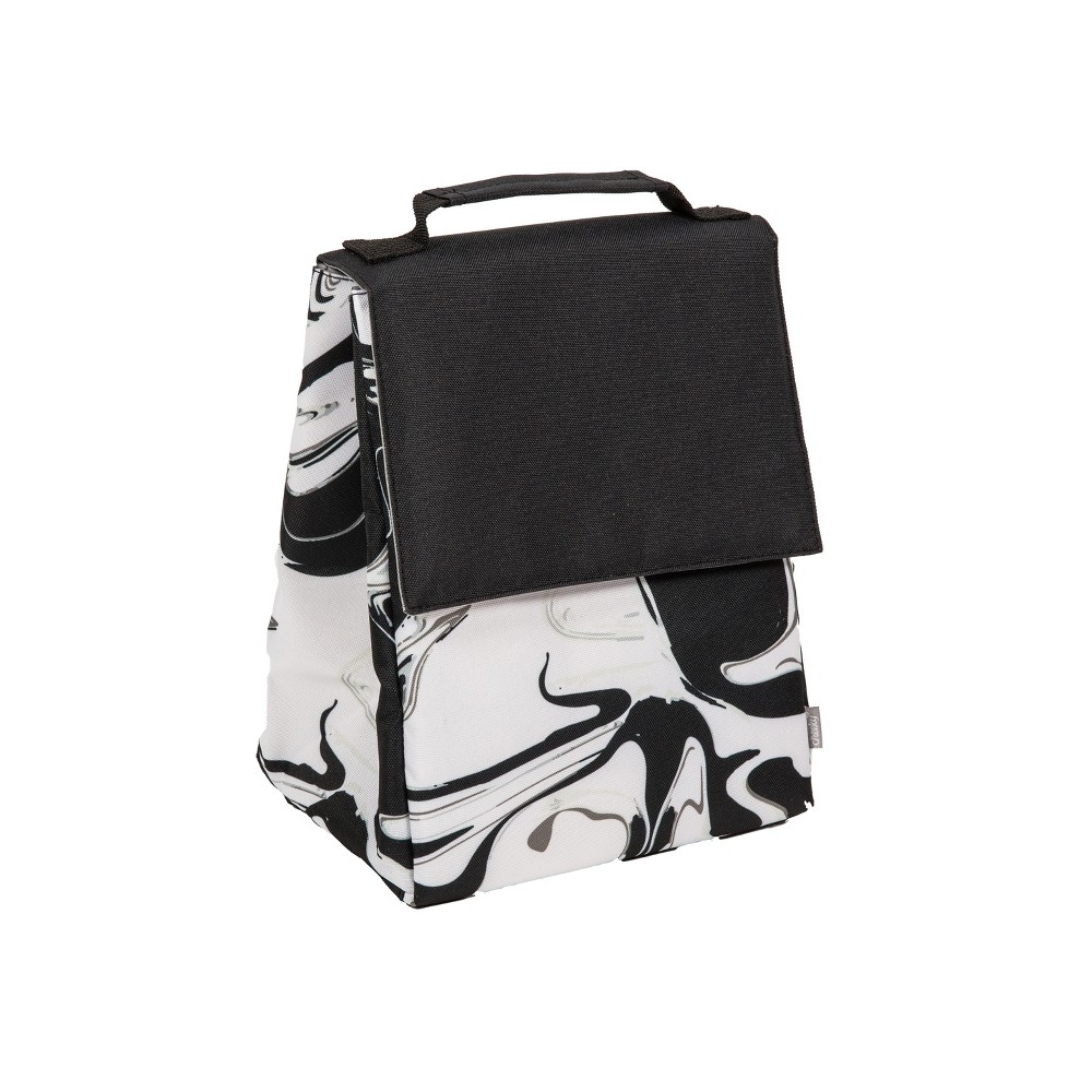 Cheeky Insulated Lunch Bag - Marble, Multi-Colored