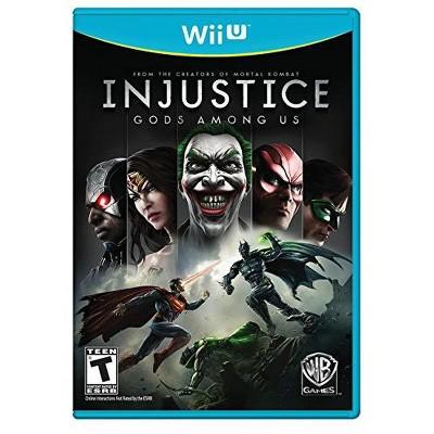 Injustice: Gods Among Us - Nintendo Wii-U