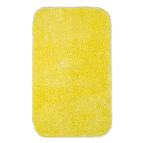 20 X32 Solid Bath Rug Yellow Room Essentials Target