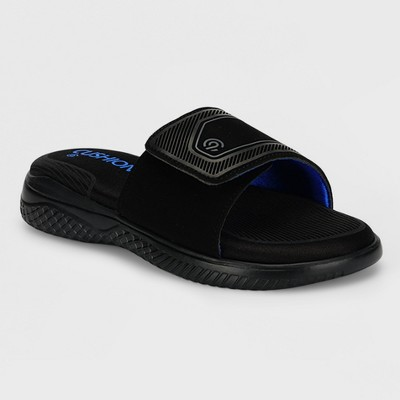 9ab0544bc9fd Boys  Franco Slide Sandals – C9 Champion® Black M – Target Inventory ...