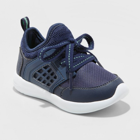 Toddler Boys' Zachary Athletic Sneakers - Cat & Jack™ Navy - image 1 of 3