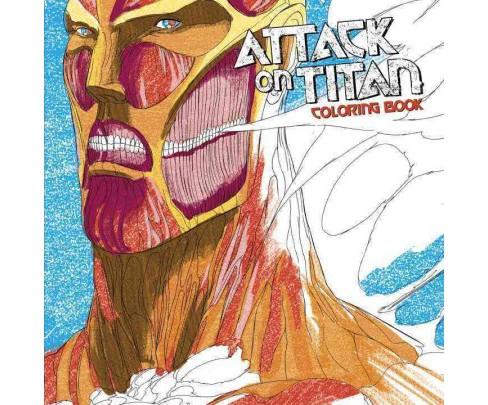 Attack on Titan Coloring Book (Paperback) (Hajime Isayama) - image 1 of 1