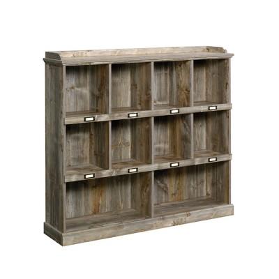 "48"" Granite Trace Bookshelf Cubby Rustic Cedar - Sauder"