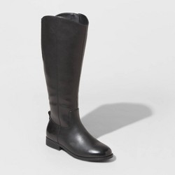 Women's Brisa Faux Leather Riding Boots - Universal Thread™