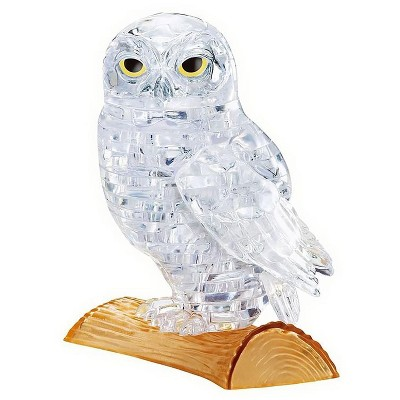 University Games White Owl 42 Piece 3D Crystal Jigsaw Puzzle