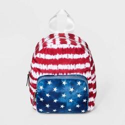 Mad Love Striped Americana Mini Dome Backpack